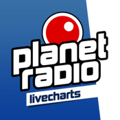 planet radio livecharts top 40