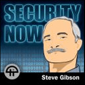 Podcast Security Now! with Steve Gibbson